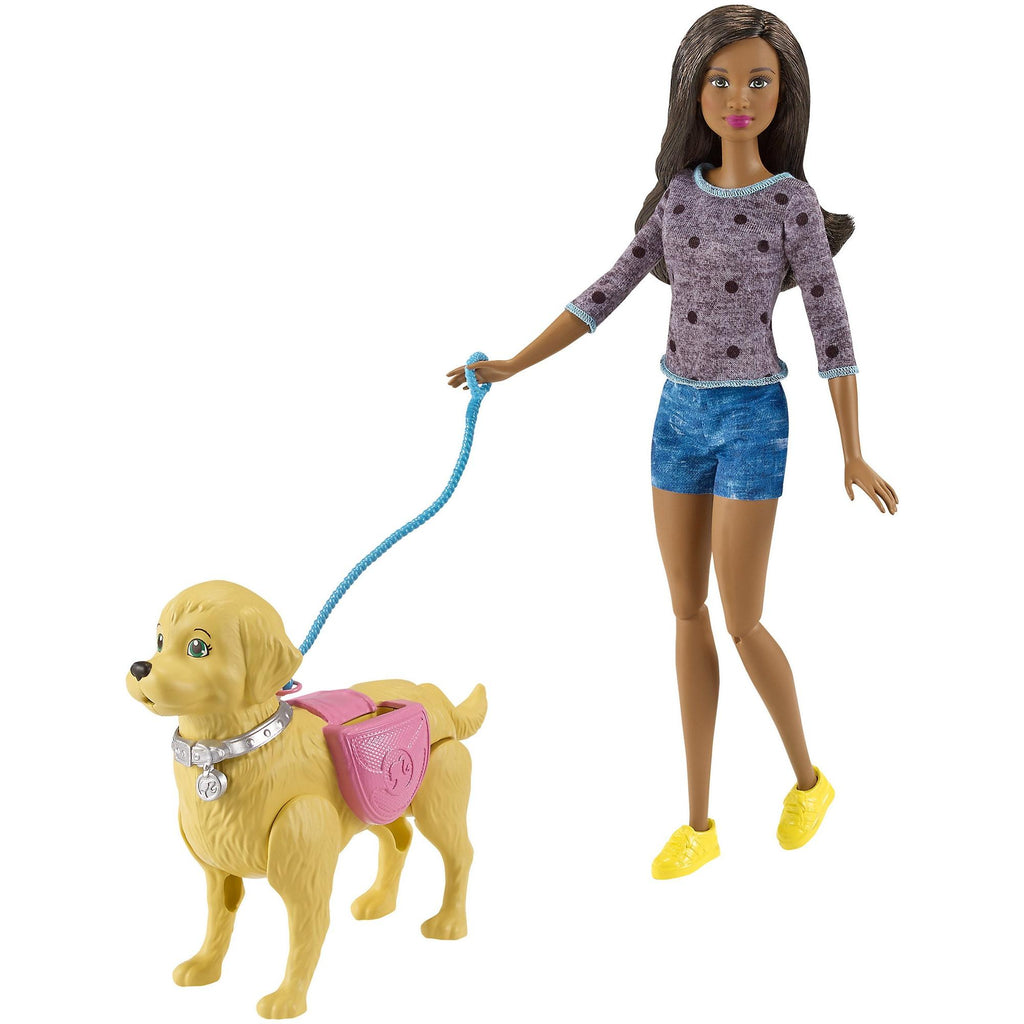 Barbie Walk & Potty Pup Nikki Doll