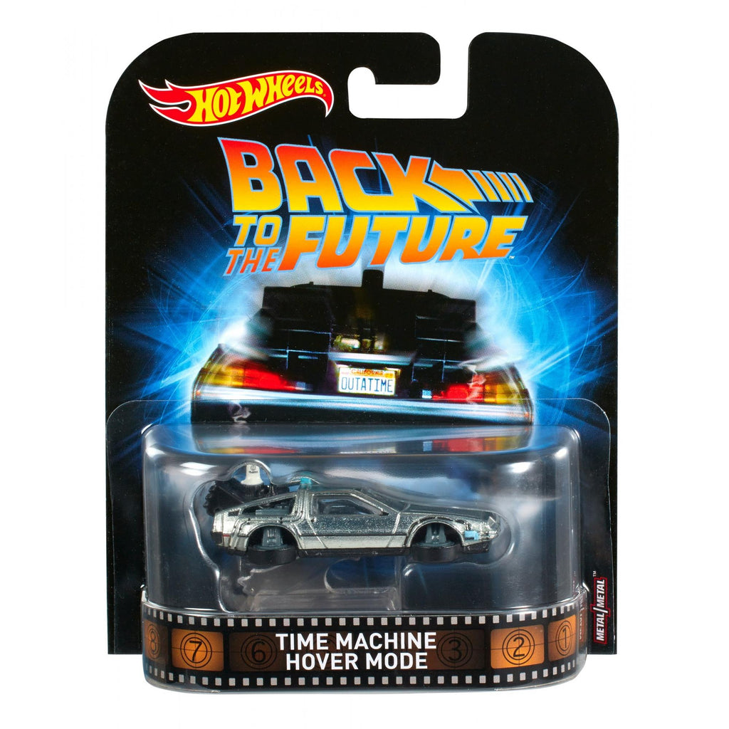 Hot Wheels Back to the Future II Time Machine Vehicle