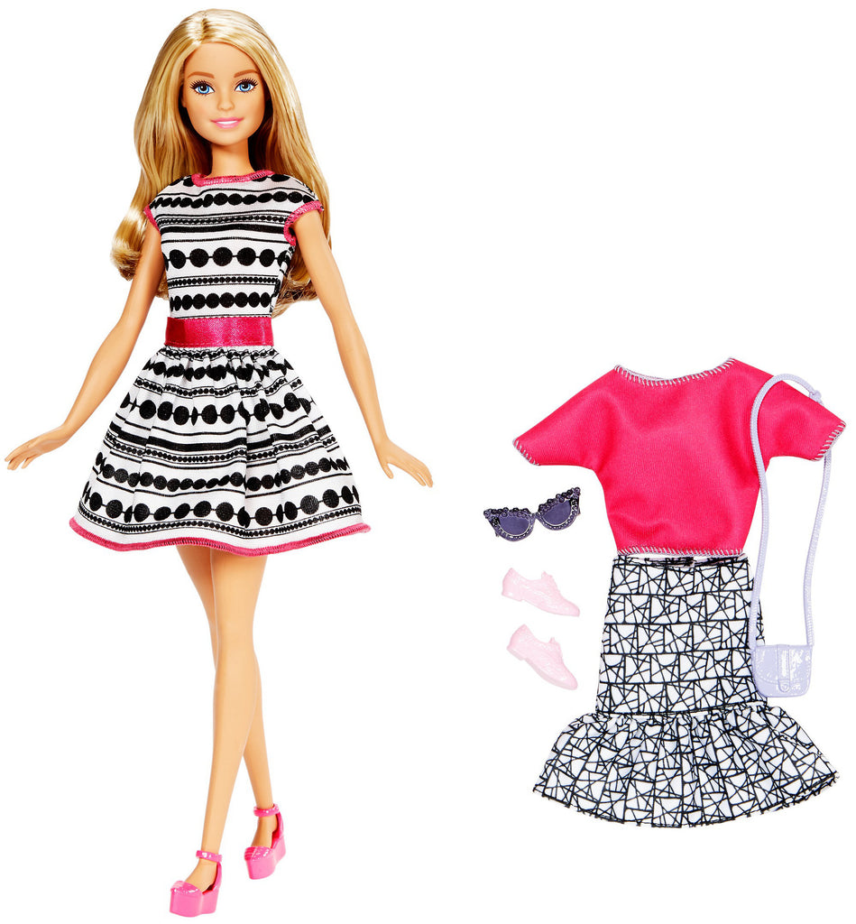Barbie Fashionista Doll & Fashions - Blonde