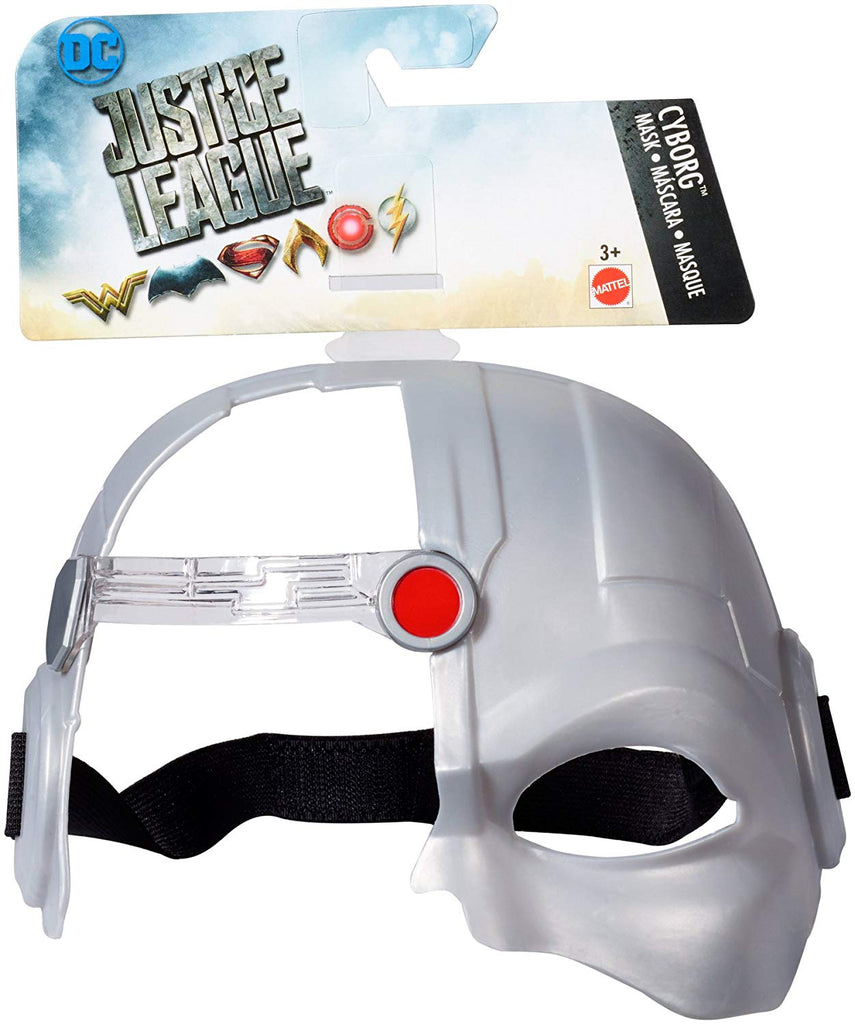 DC Justice League Cyborg Hero Mask