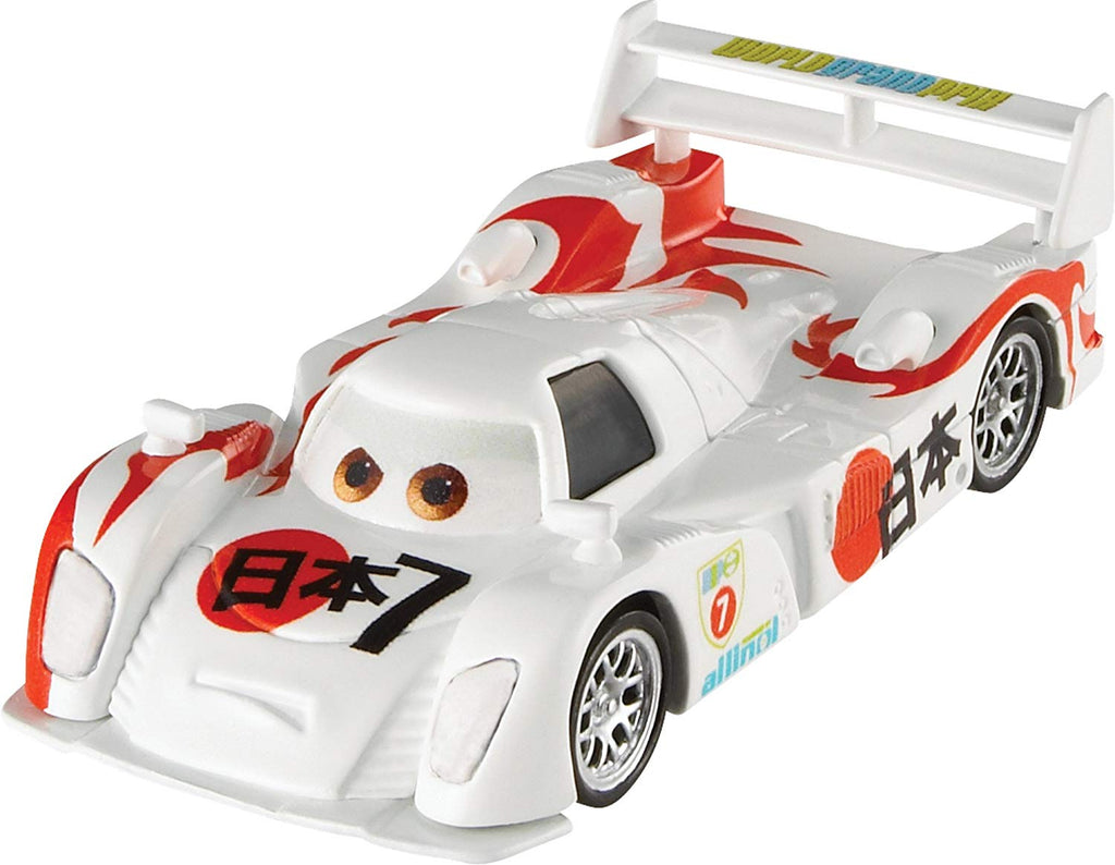 Disney Cars Pixar Die-cast Shu Todoroki Vehicle