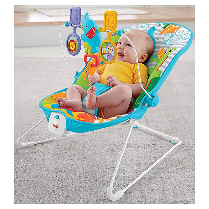 Fisher-Price Animal Kingdom Baby Bouncer