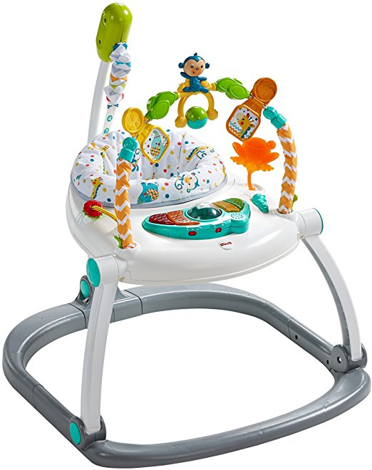 Fisher-Price Colorful Carnival SpaceSaver Jumperoo