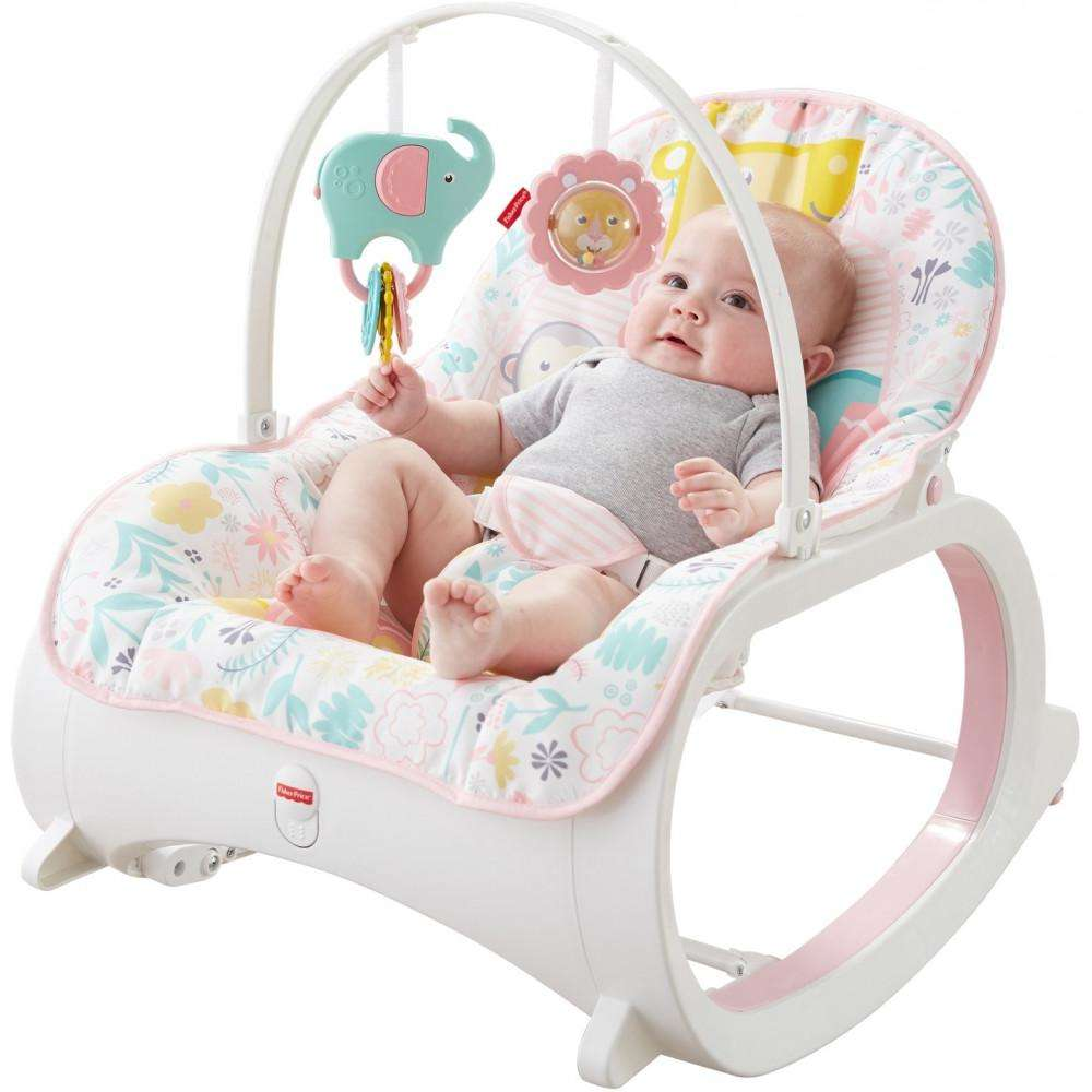 Infant-to-Toddler Rocker, Pink