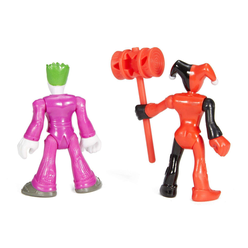 Imaginext DC Super Friends the Joker and Harley Quinn Action Figures