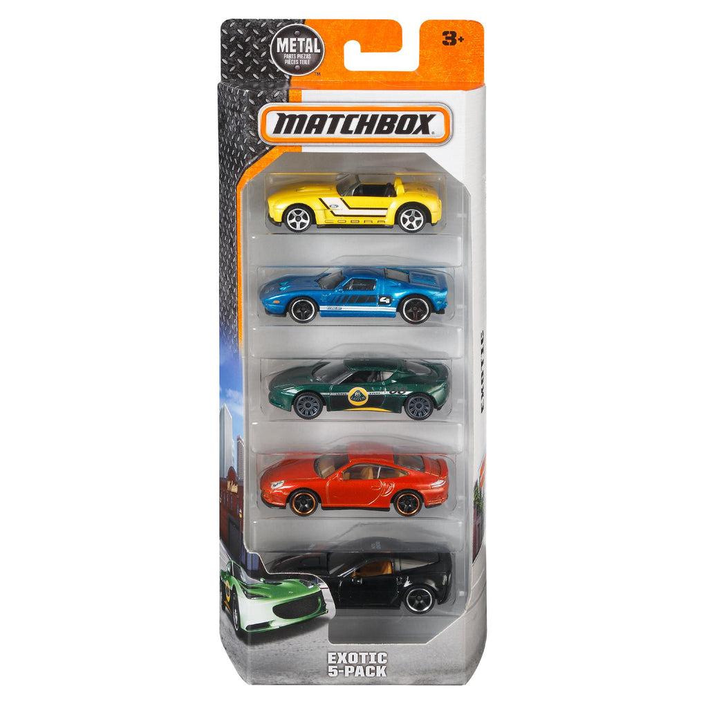 Matchbox 5-Car Pack (Styles May Vary)