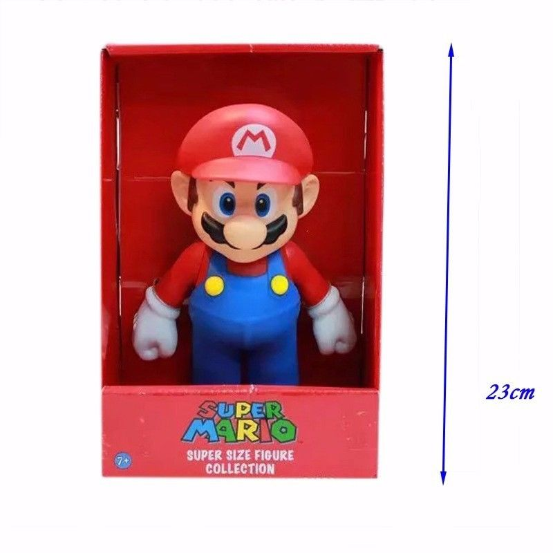 "Large 9"" in Super Mario Action Figure"