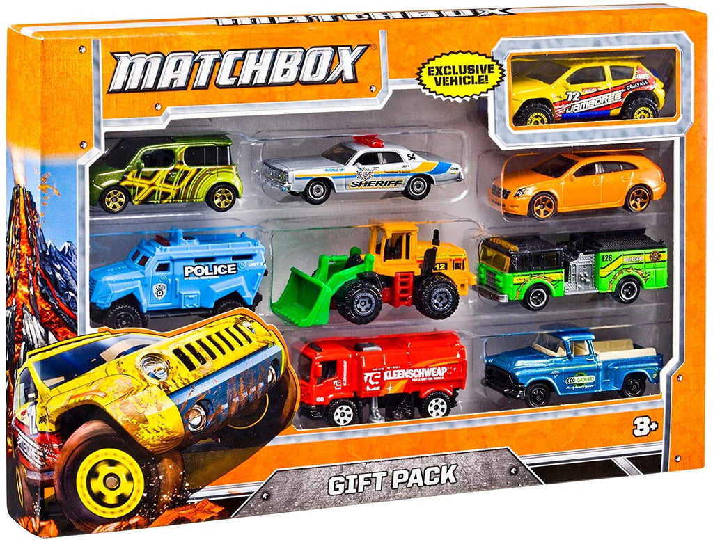 Matchbox 9 Car Collector Gift Pack