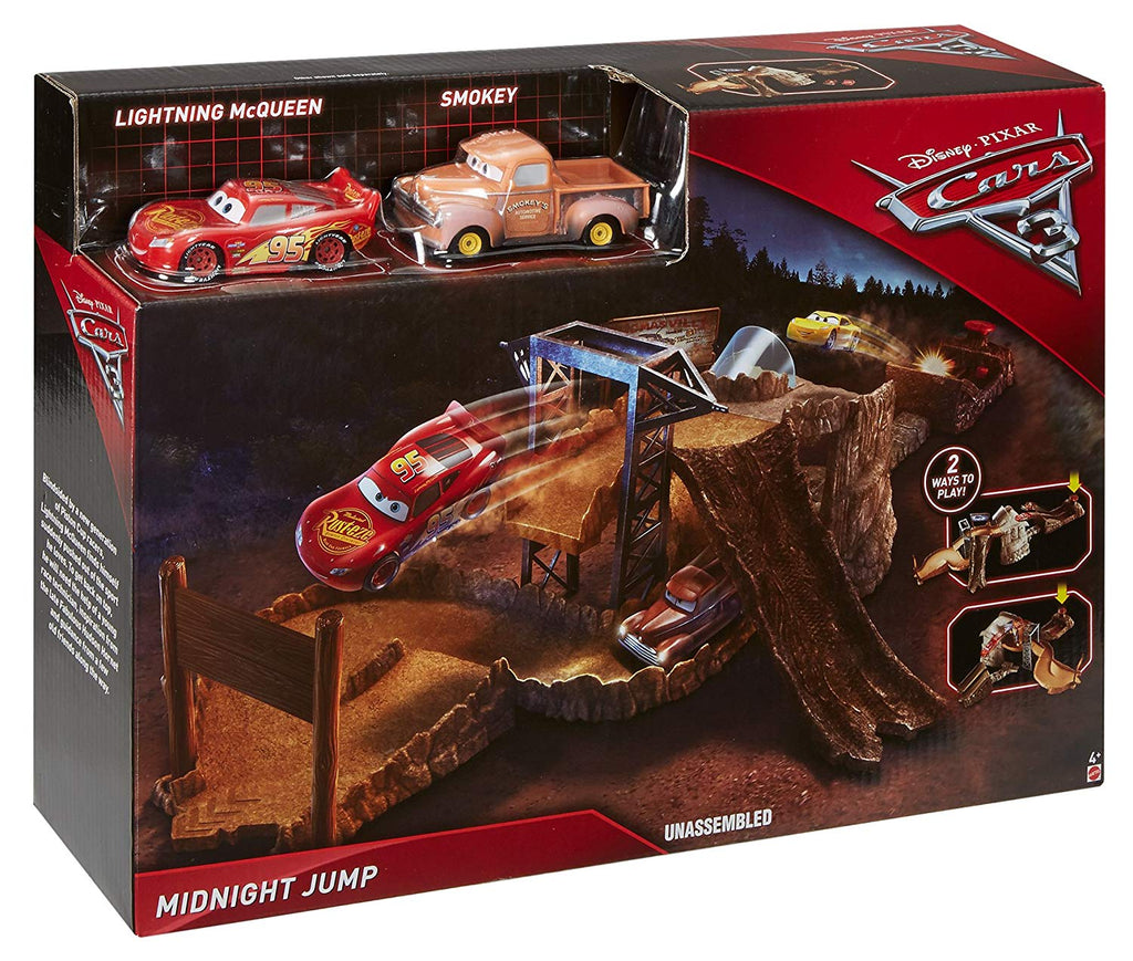 Disney Pixar Cars 3 Midnight Jump Track Set