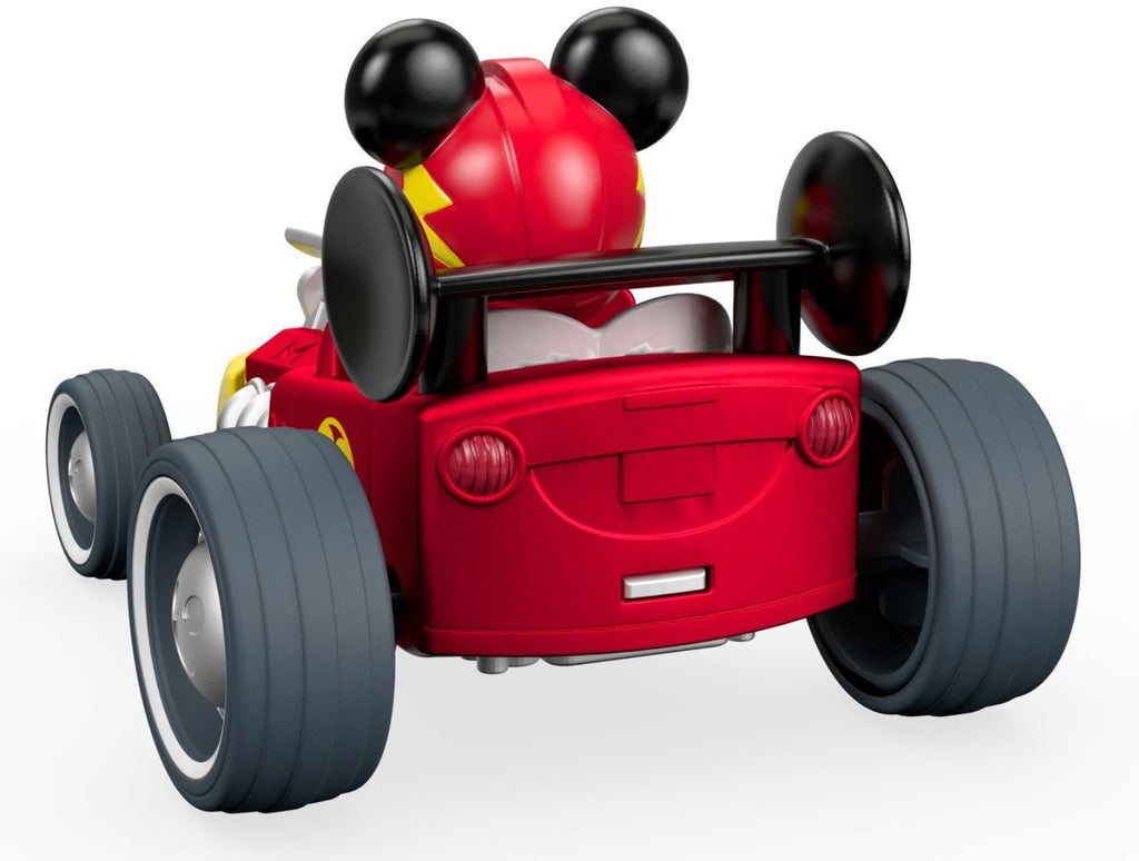 Fisher-Price Disney Mickey & the Roadster Racers, Pull 'n Go Hot Rod Vehicle