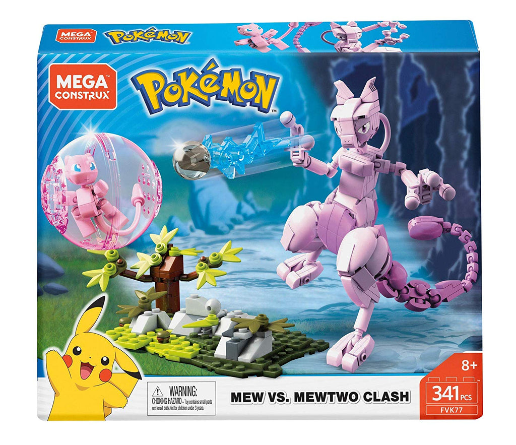 Pokemon Mew Vs. Mewtwo Clash
