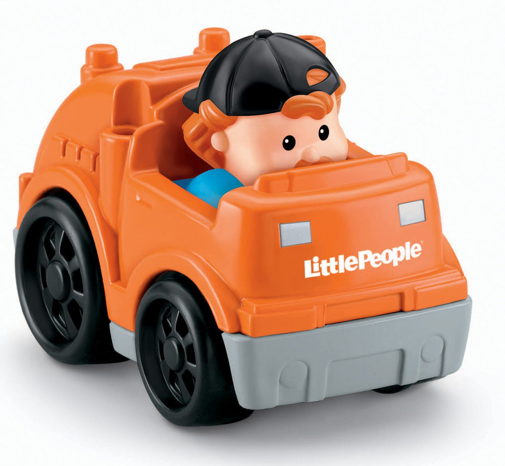 Fisher-Price Little People Wheelies Recycle Truck