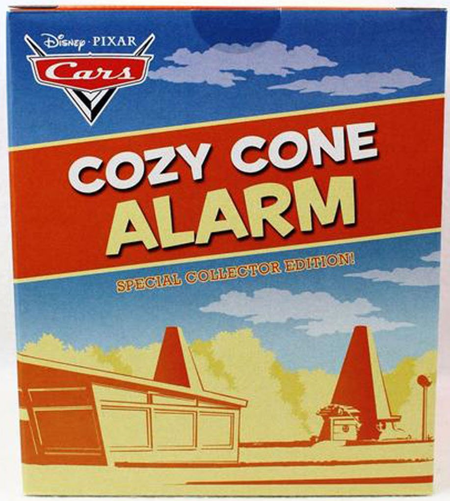 Disney Pixar Cars Cozy Cone Alarm Special Collector's Edition