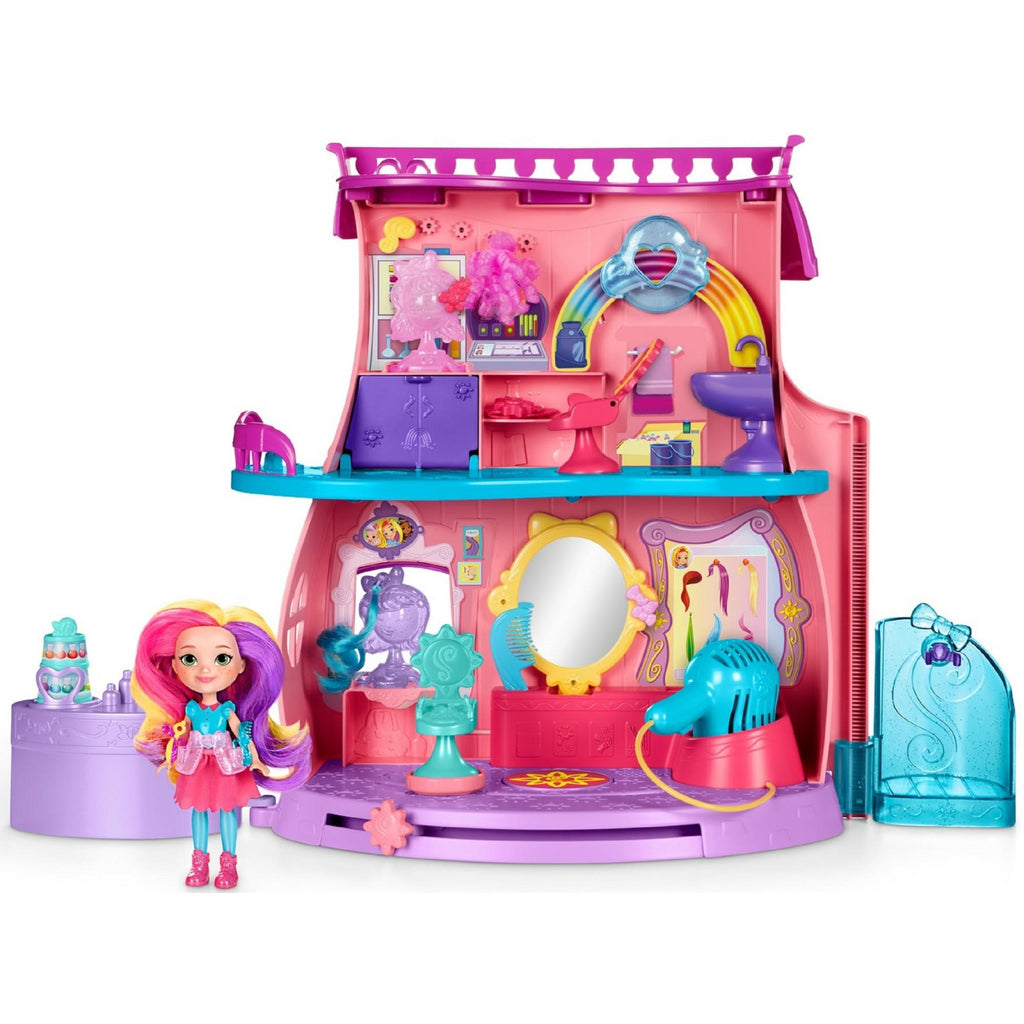 Nickelodeon Sunny Day's Fan-tastic Salon Playset, Doll, & Styling Tools