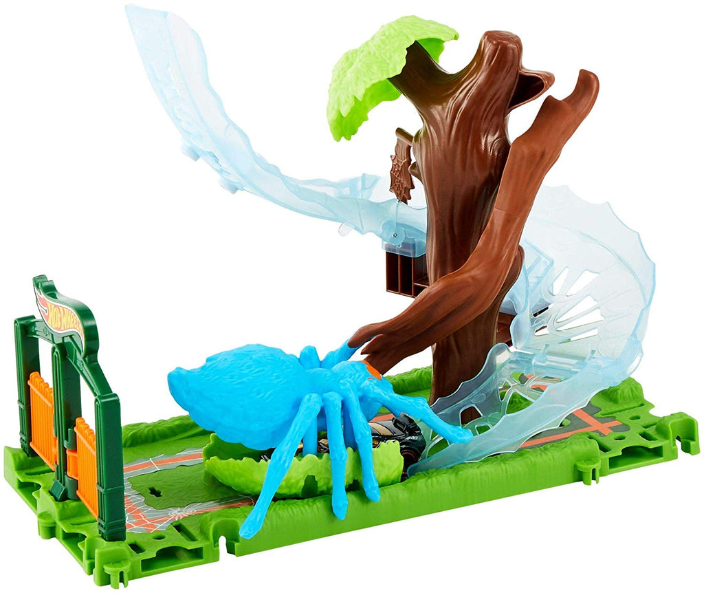 Hot Wheels City Spider Park Attack Playset