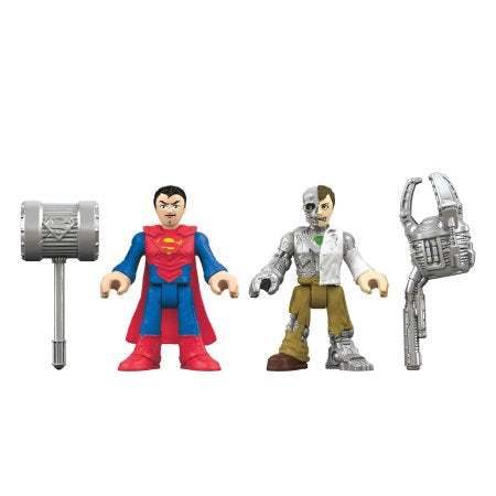 Imaginext DC Super Friends Superman and Metallo