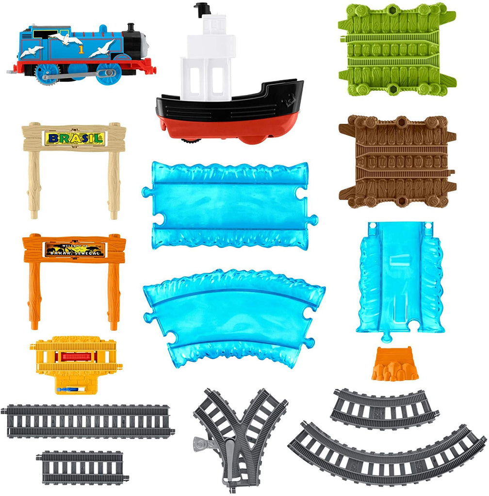 Fisher-Price Thomas & Friends TrackMaster, Boat & Sea Set
