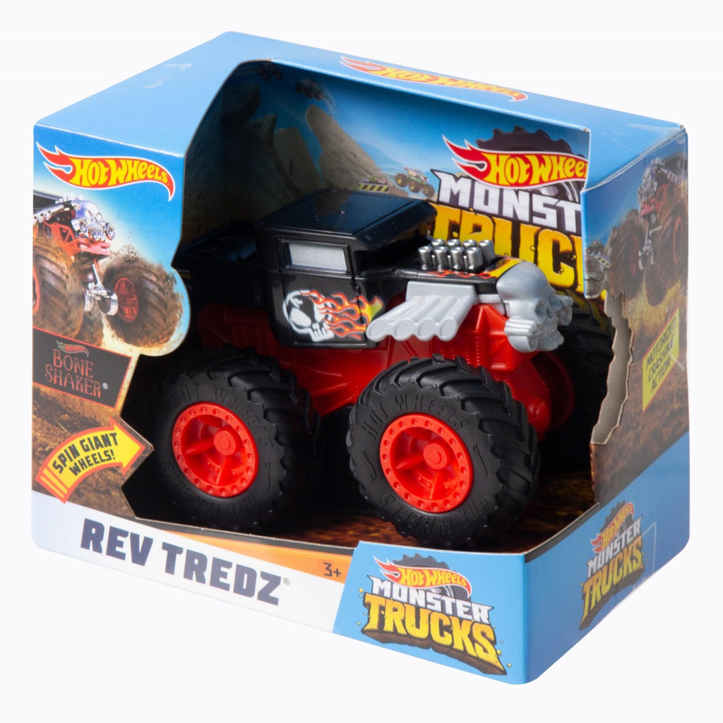Monster Trucks Rev Tredz Bone Shaker Vehicle #2, Multicolor