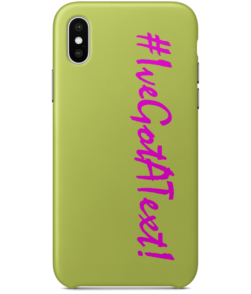 iPhone X Ive Got A Text Love Island Cover