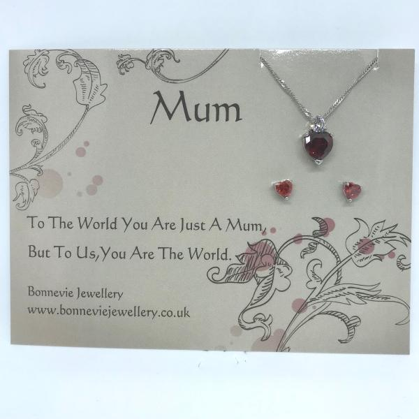 Mothers day gifts | Necklace and Earring Gift Set