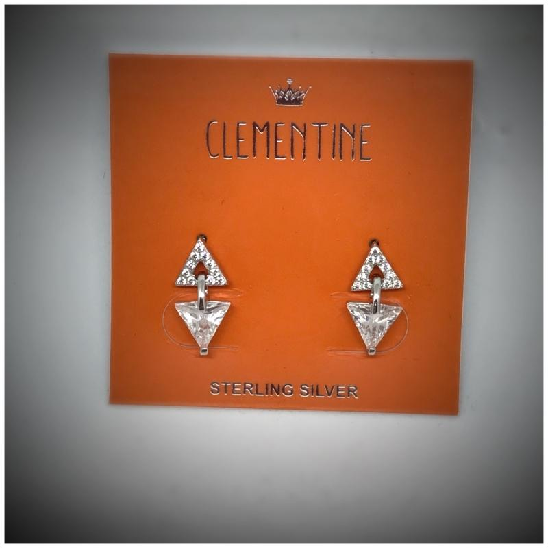 Clementine Designer Prism Earrings