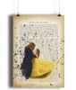Beauty And The Beast Portrait Poster