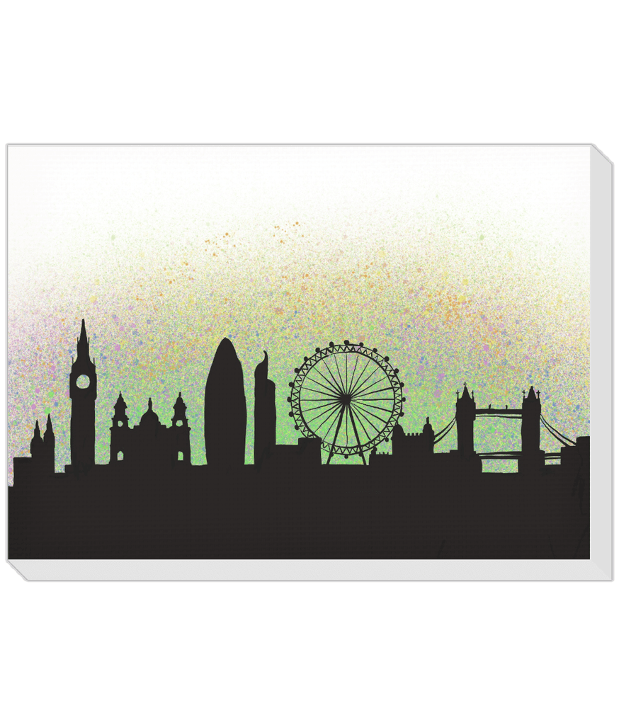 London Skyline Landscape Canvas