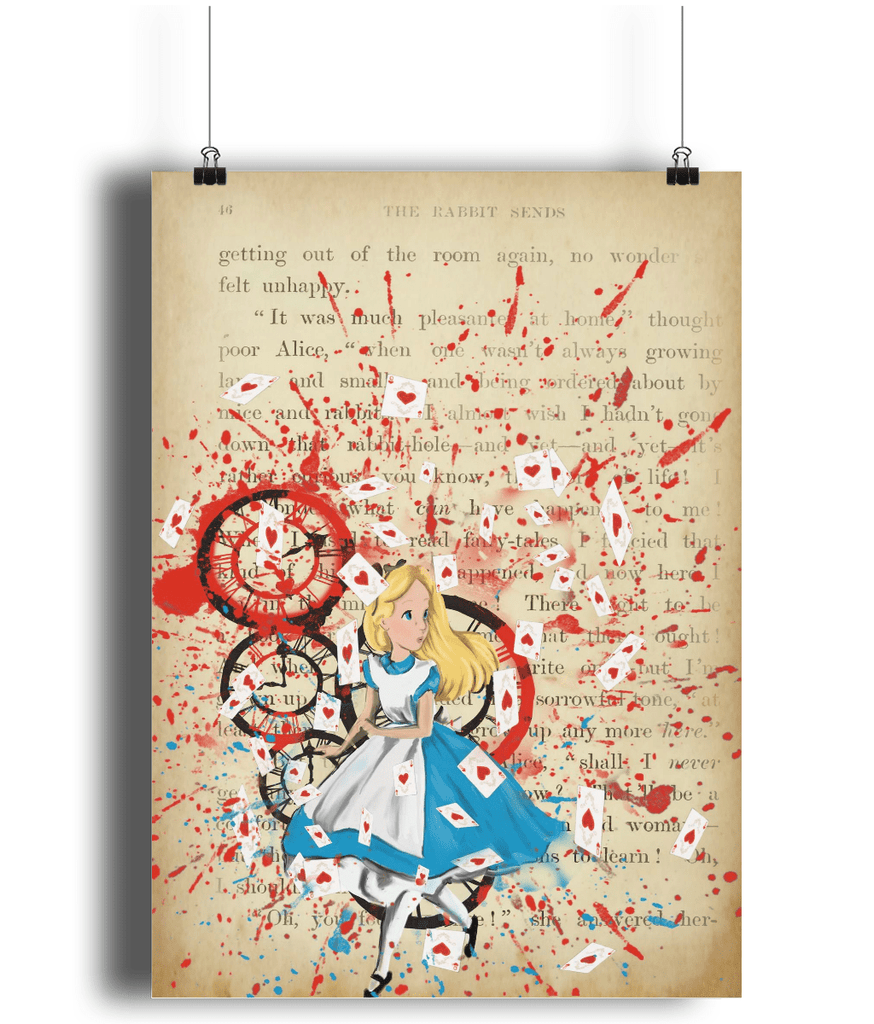 Alice Portrait Poster