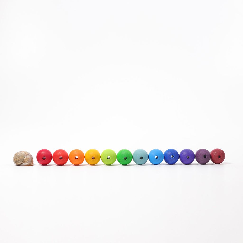 Grimm's large wooden beads