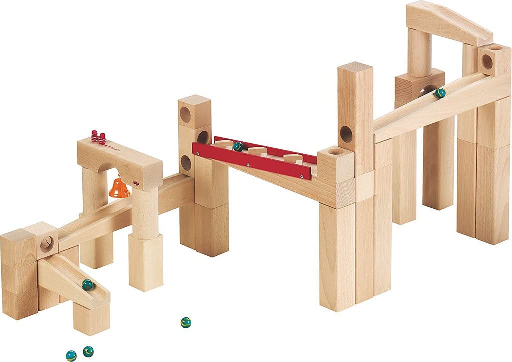 Haba large basic ball track set