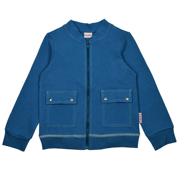 Bomber Jacket - Faiance Blue