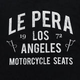 Men's Le Pera Black Text T-Shirt