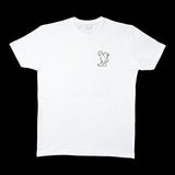 Men's Le Pera White Booty Pleasing T-Shirt