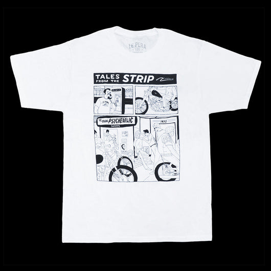 Men's Le Pera White Comic T-Shirt
