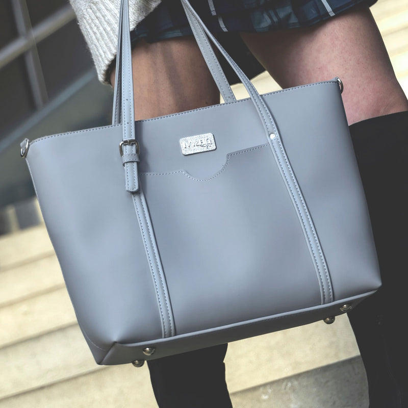 Ivy & Fig Handbag The Stella Daybag - Fog