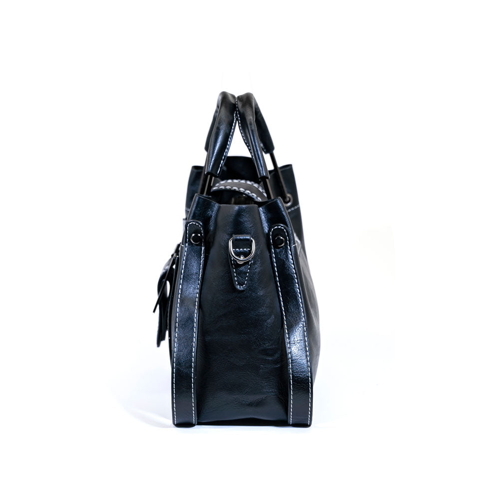 Michelle Designer Bag - Black