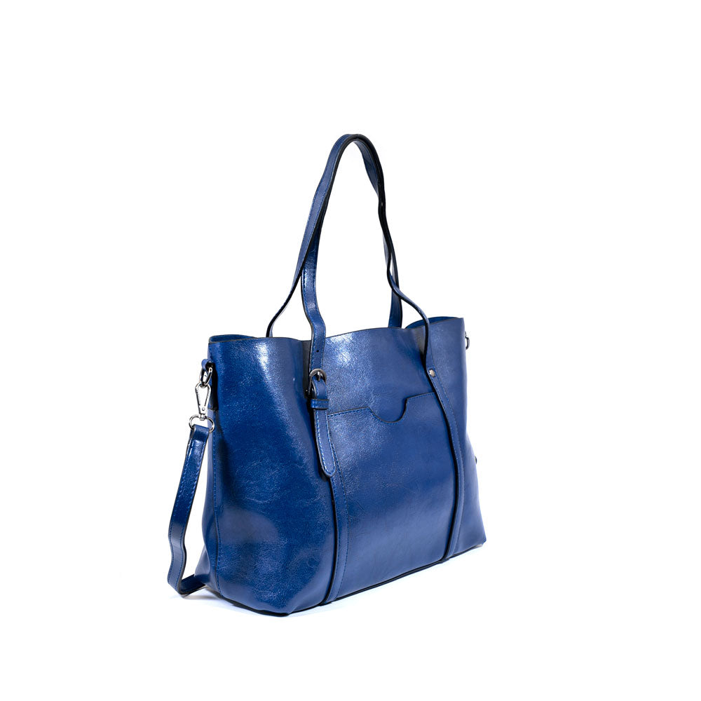 The Symphony Tote - Navy Blue