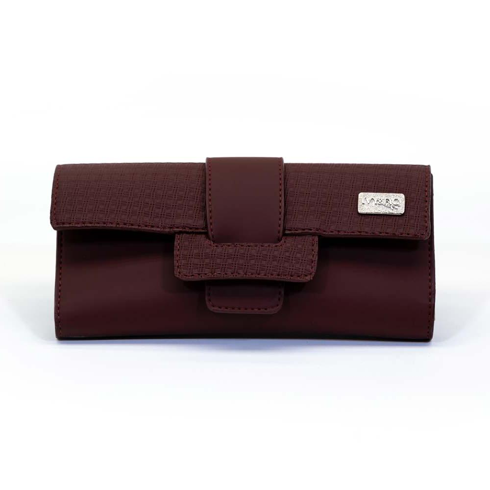 Ivy and Fig Vegan Leather Handbags Ibiza Wallet Mulberry 1