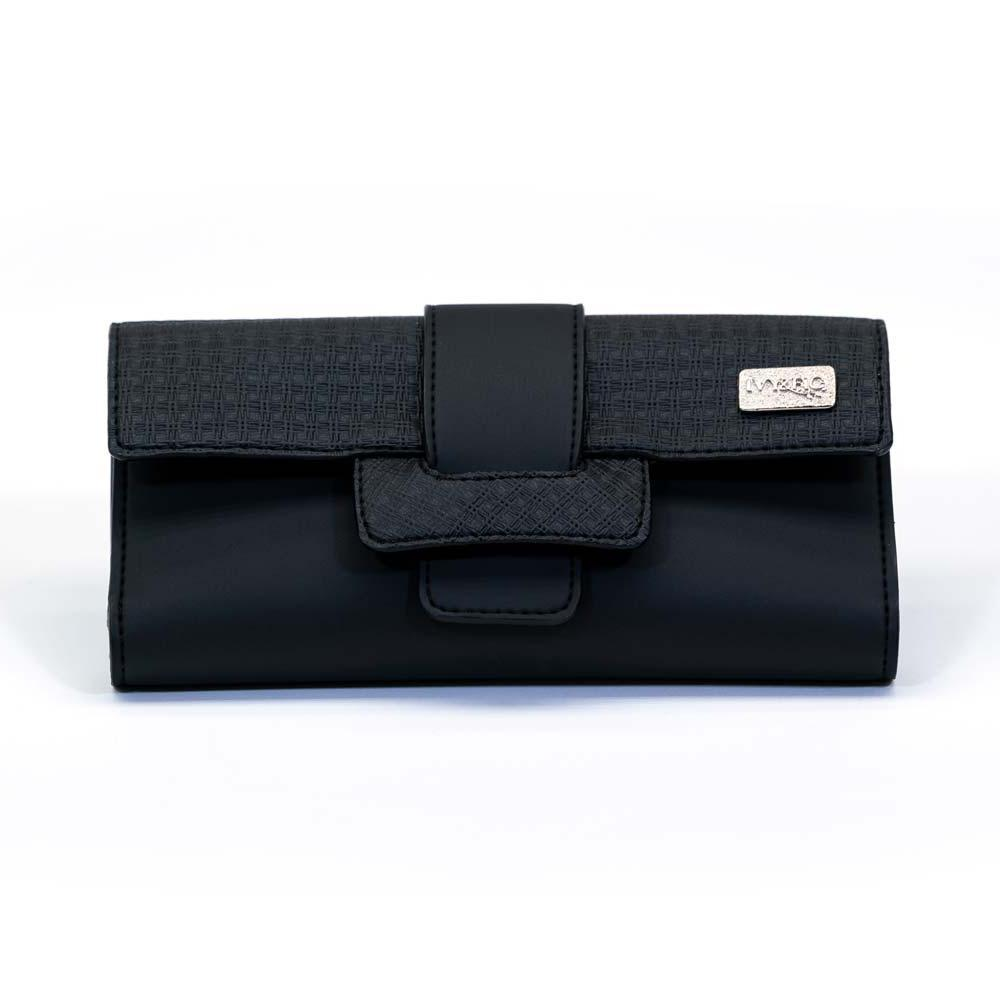 Ivy & Fig Discount The Ibiza Wallet - Onyx (50% off)