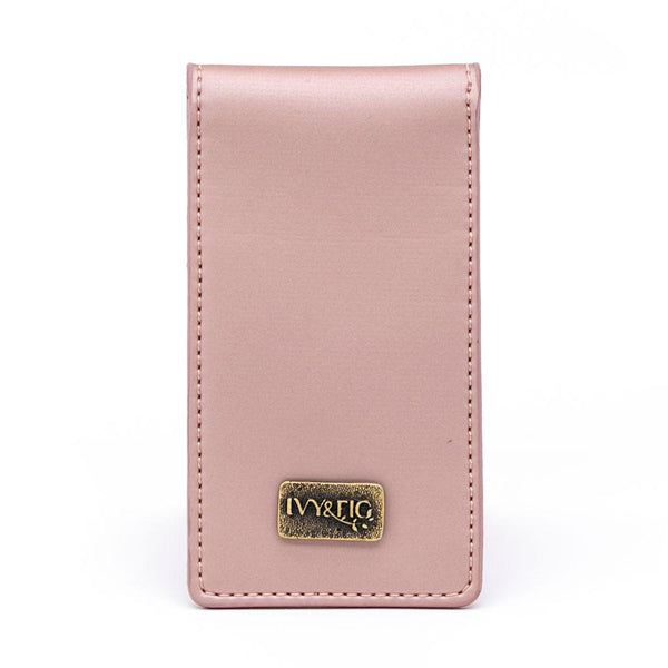 Ivy and Fig Vegan Leather Handbags Lanai Wallet Rose Pearl 1