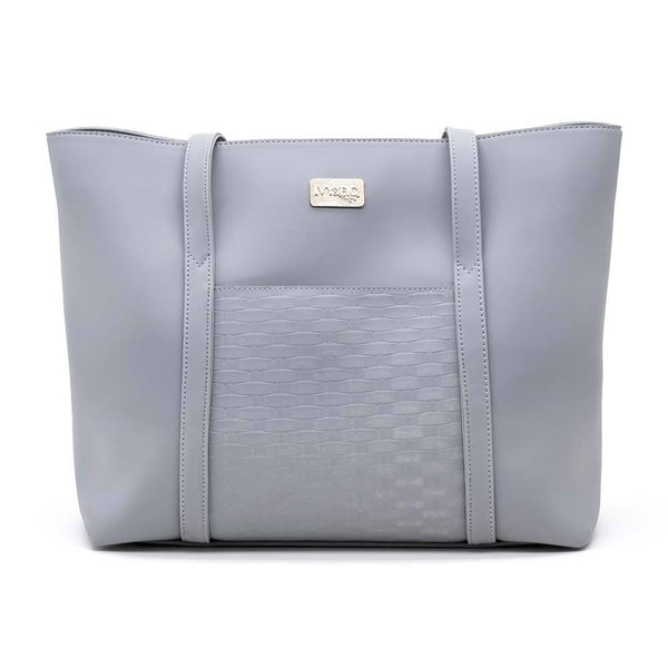 Ivy & Fig Handbag The Marcella Tote - Fog