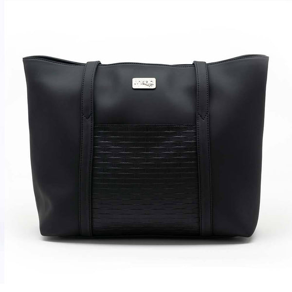 Ivy & Fig Handbag The Marcella Tote - Onyx