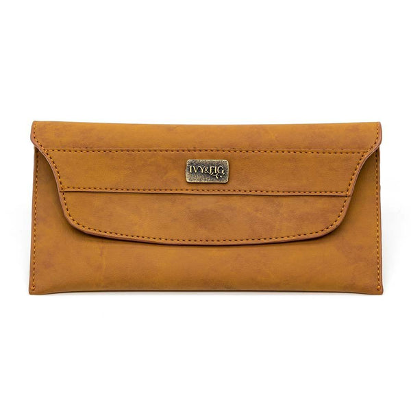 Ivy & Fig Wallet The Night Out - Saddle