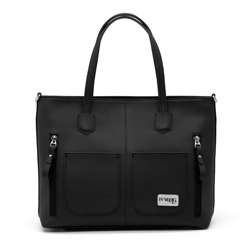 The Renata Handbag - Onyx