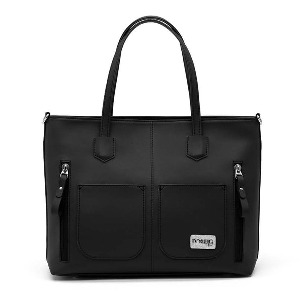 Ivy & Fig Handbag The Renata Handbag - Onyx