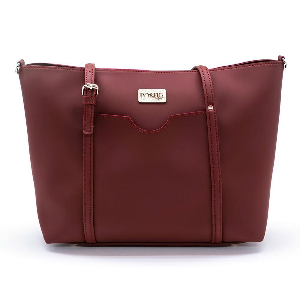 Ivy & Fig Discount The Stella Daybag - Mulberry (40% off)