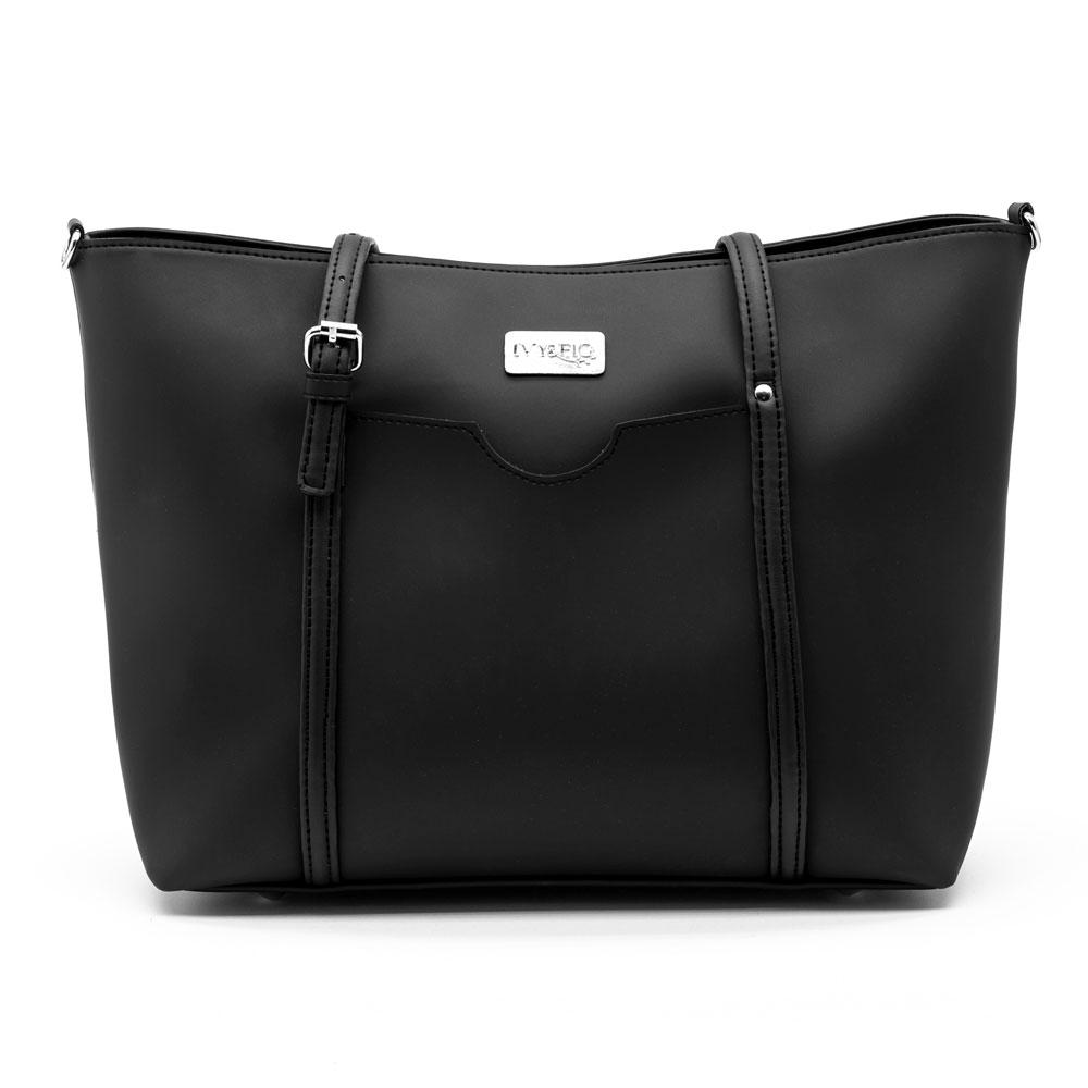 Ivy & Fig Handbag The Stella Daybag - Onyx
