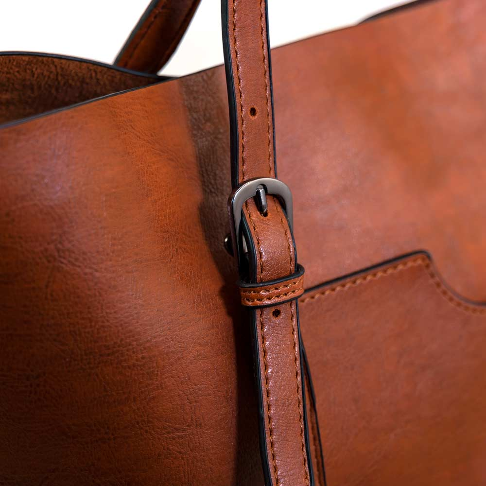 The Symphony Tote - Brown