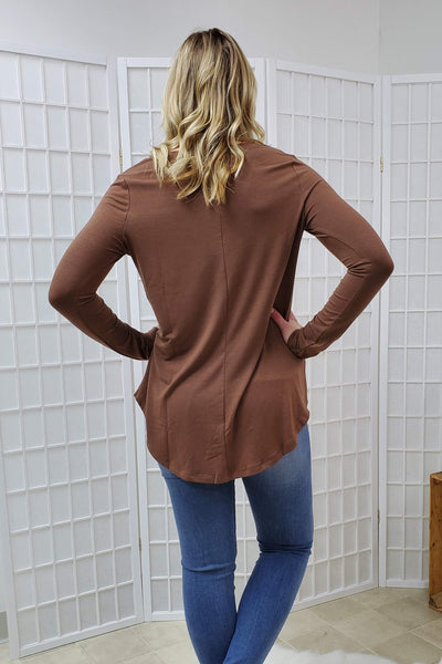 Turner Light Brown Top (item #06)