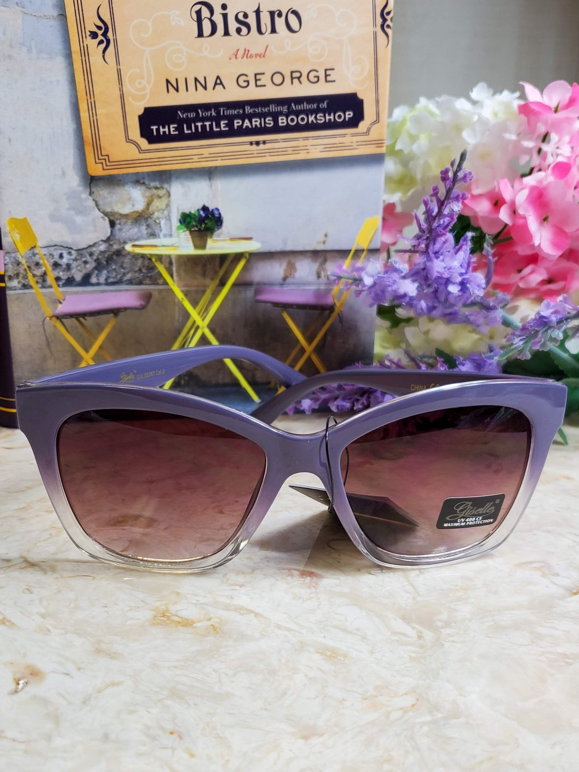 Halsted Purple Sunglasses